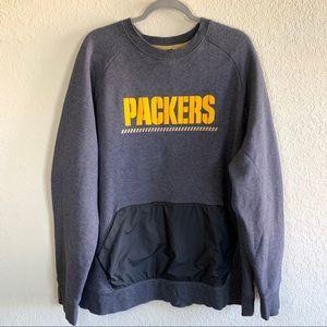 Nike NFL Packers hybrid fleece sweatshirt crewneck